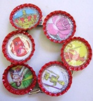 Bottlecap Loteria Bracelet